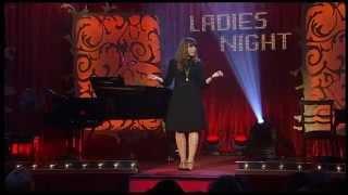 Katie Freudenschuss bei der Ladies Night