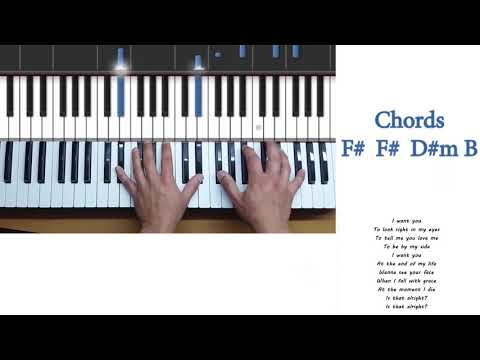 Lady Gaga - Is That Alright PIANO Tutorial Karaoke chords