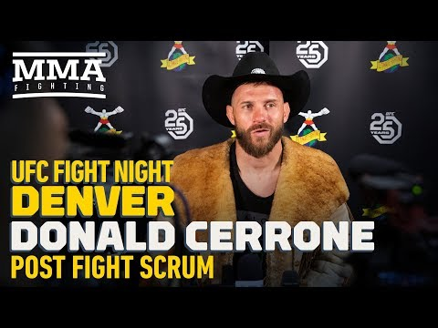UFC Denver: Donald Cerrone Already Has 'Very Exciting' Opponent Lined Up For 155-Pound Return