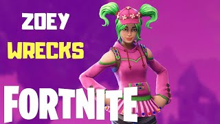 Fortnite: This Is Why I Hate Zoey Skin! (Watch Until End)