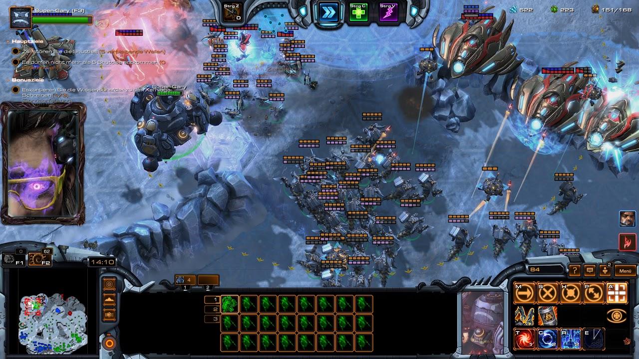 Starcraft 2 Coop Brutal Random (4K)