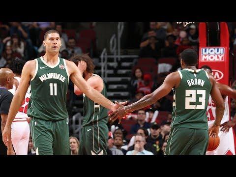 Highlights: Bucks 122 - Bulls 112 | 10.7.19
