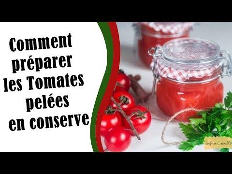 comment-préparer-les-tomates-pelées-en-conserve