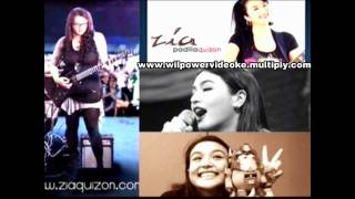 Ako na Lang by Zia Quizon (Videoke/Lyrics/Instrumental - HD)