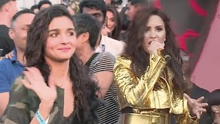 Exclusive: Alia Bhatt's never seen before fan moment with Demi Lovato | The Global Citizen India