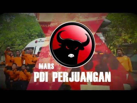 MARS PDI PERJUANGAN (VIDEO LIRIK)