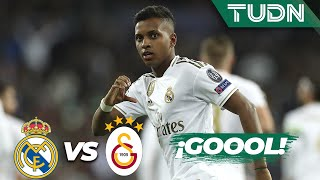 Download ¡Hat trick de Rodrygo! | Real Madrid 6 - 0 Galatasaray | Champions League - J4 - Grupo A | TUDN Mp3 and Videos