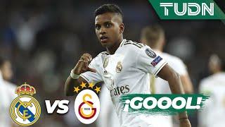 ¡Hat trick de Rodrygo! | Real Madrid 6 - 0 Galatasaray | Champions League - J4 - Grupo A | TUDN