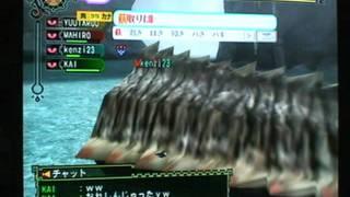 【MH3】PT集会(おっきいジョーの尻尾を切れw) thumbnail