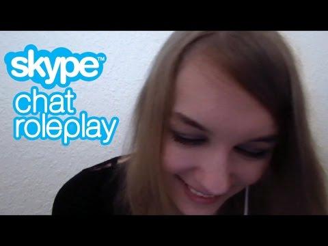 [ASMR] Skype Chat Roleplay (slightly Flirty)