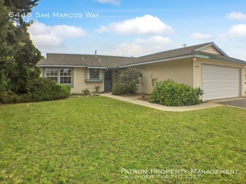 Buena Park Homes for Rent 4BR/2BA by Buena Park Property Management
