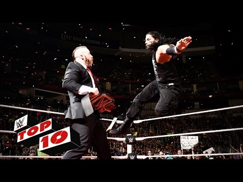 Top 10 Raw Moments: WWE Top 10, November 30, 2015