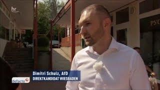 AfD Kandidat in Hessen (selber Flüchtling!) flucht über Flüchtlinge