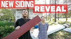 The Big Reveal of our New Siding, but lots of Hold-ups!