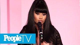 Nicki Minaj Calls Juice WRLD A 'Kindred Spirit' In Emotional Speech After His Death   PeopleTV