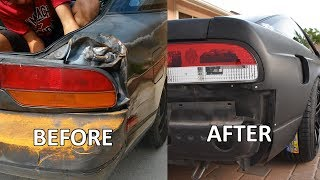How I Fixed My Smashed in Quarter Panel