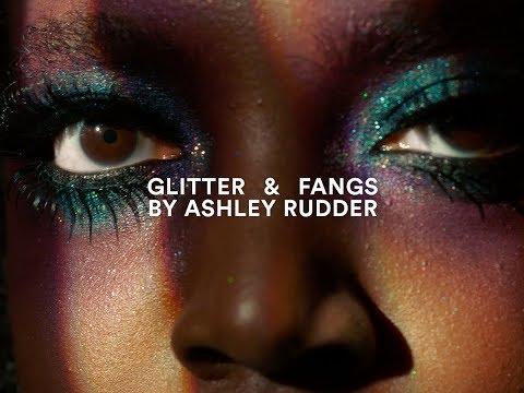 Glitter and Fangs I MAC Halloween Tutorial