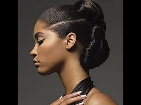 Best Bun Updo Hairstyles for Black Women