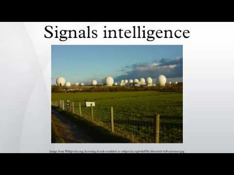 Signals intelligence