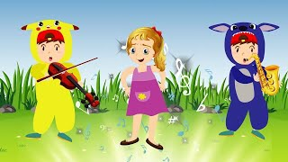 Action Songs for kids #Color Learning Song #Nursery Rhymes & Kids Songs #Animal Songs