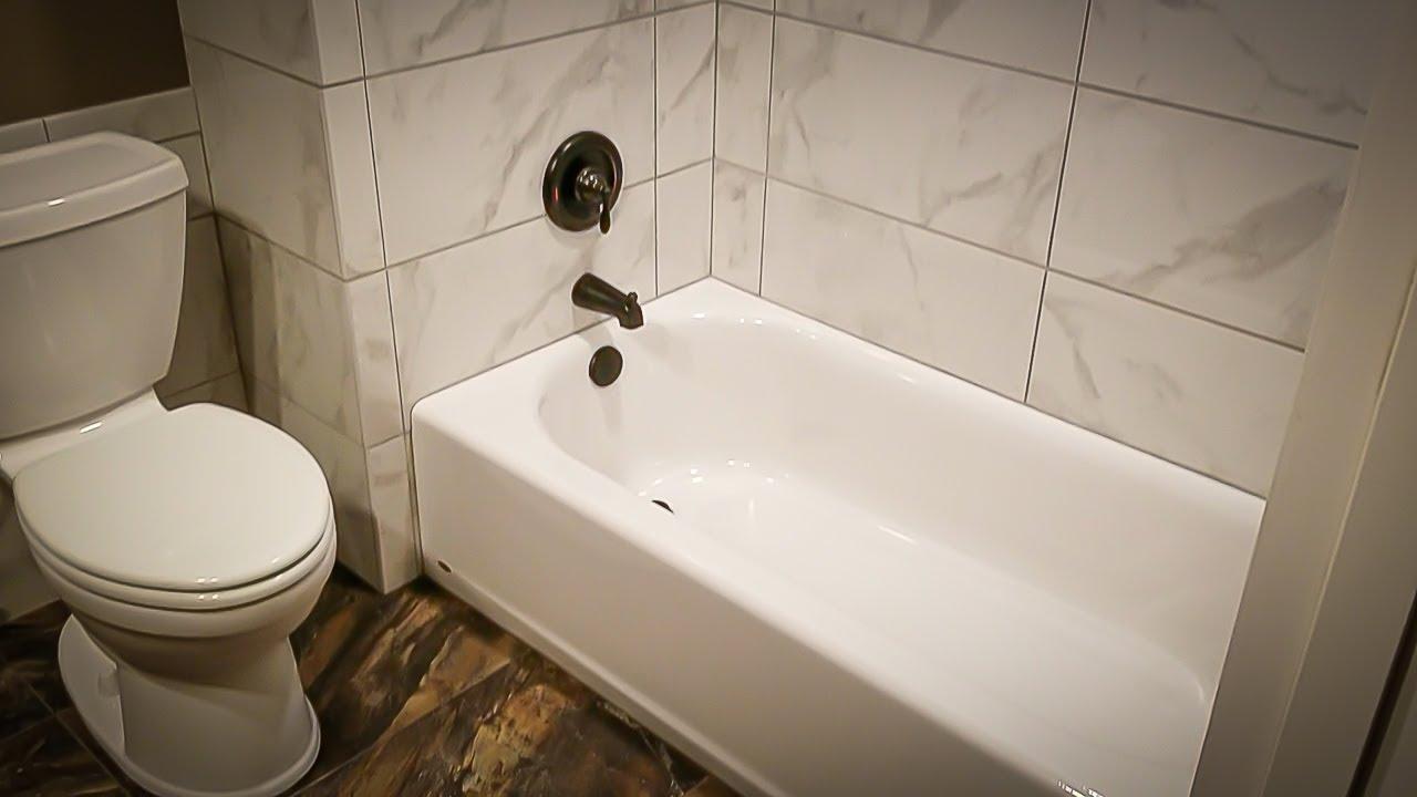 tile setting how to set tile around your tub