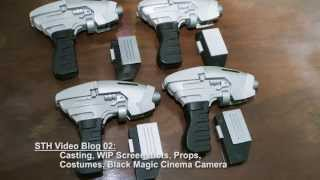 "Vlog 02: ""star Trek - Horizon"", Updates On Casting, Props, Visfx, And Costuming"
