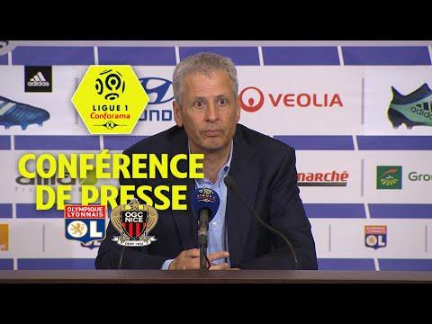 Conférence de presse Olympique Lyonnais - OGC Nice ( 3-2 )  / 2017-18