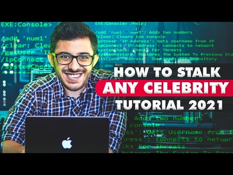 HOW TO STALK CELEBRITY TUTORIAL  – NO PROMOTION