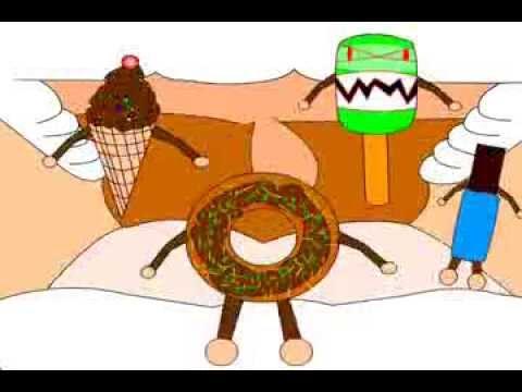 Kalahkan Monster Makanan Dengan Gosok Gigi Youtube