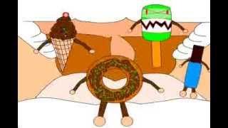 Kalahkan Monster Makanan Dengan Gosok Gigi