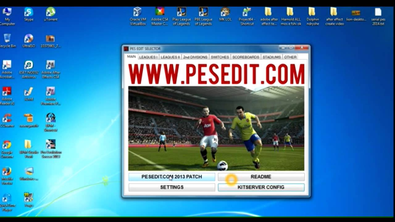Pes 2013 pesedit 6. 0 new option file 28-6-2018 pes patch.