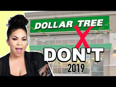 NEVER BUY THESE PRODUCTS FROM DOLLAR TREE 2019 | Sensational Finds