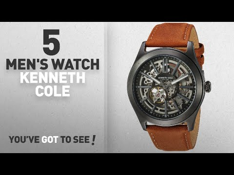 Top 10 Men's Watch Kenneth Cole [2018]: Kenneth Cole New York Men's ' Automatic Stainless Steel and