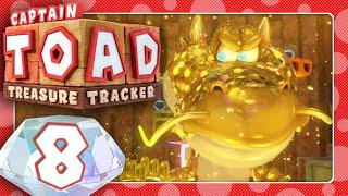 🔴 CAPTAIN TOAD: TREASURE TRACKER 🍄 #8: Die Leiden des Kapitän Toad