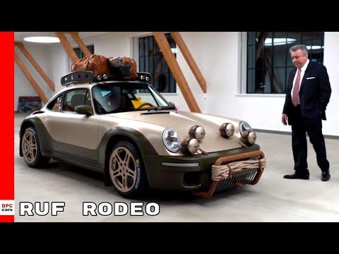 RUF RODEO Concept Car Inspired By Porsche 911
