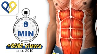 8 Min Abs Workout how to have six pack(8 Min Abs Workout how to have six pack has been designed to specifically work on the abdominal muscles and have perfect 6 packs. It can be done by anyone ..., 2010-04-02T10:46:55.000Z)