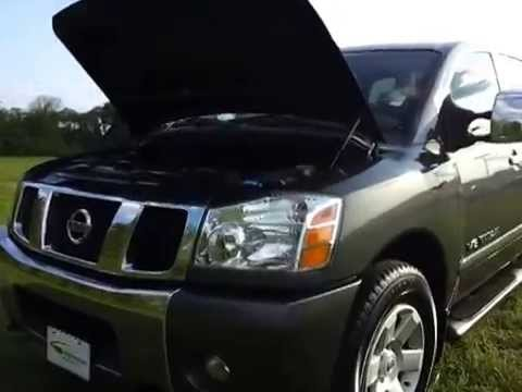 SOLD.2006 NISSAN TITAN LE CREWCAB 4X4 5.6 V-8 ONE OWNER 45,236 MILES FOR SALE CALL 888-439-8045