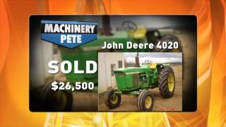 John Deere 4020 Tractors - Rising Values