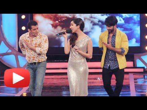 Shraddha Kapoor sings For Salman Khan - Bigg Boss 8