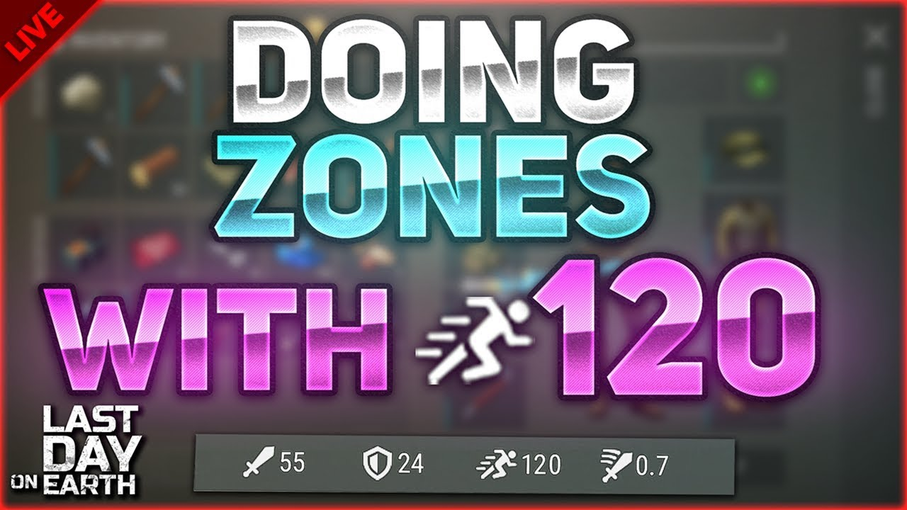 Doing zones with 120 running speed blueprint farm last day on doing zones with 120 running speed blueprint farm last day on earth survival livestream malvernweather Choice Image