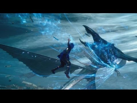 FINAL FANTASY XV - Noctis vs Leviathan   Boss Fight