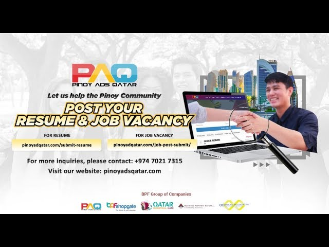 PAQ: Post a Job or Submit your Resume