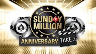 $215 Sunday Million Anniversary Take 2: Final Table Replay (Cards-Up)