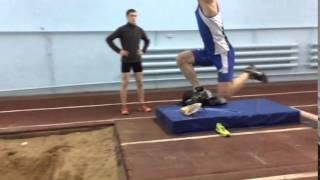 Григорьев Леонид-Тройной прыжок с короткого разбега 14м20см