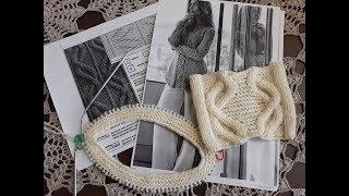 Пуловер с аранами спицами. Часть 1. Расчеты.