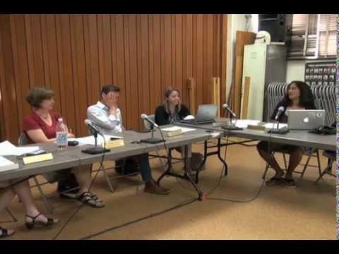 June 22, 2015 Hadley School Committee Meeting