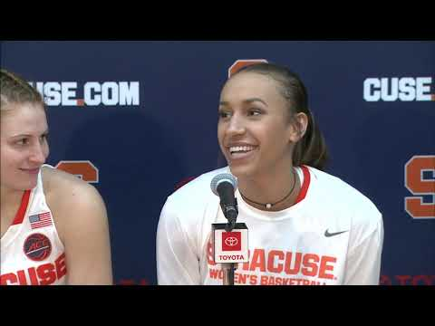 Players vs Wake Forest Postgame