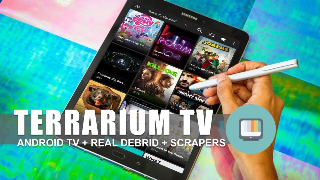 Terrarium TV (Android TV + Real Debrid + Scraper Tricks)