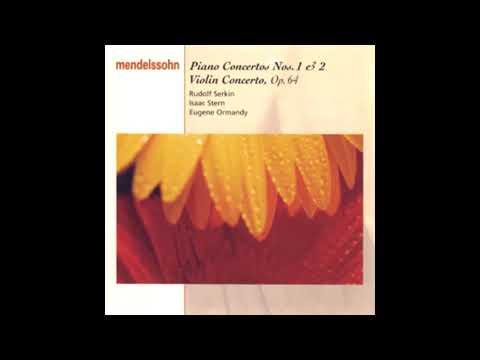 MENDELSSOHN: Piano Concerto No. 2 in D minor op. 40 / Serkin·Ormandy·Columbia Symphony Orchestra