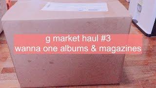 [PHOTOCARD REVEAL] G Market Haul #3 | wanna one 워너원 albums & magazine